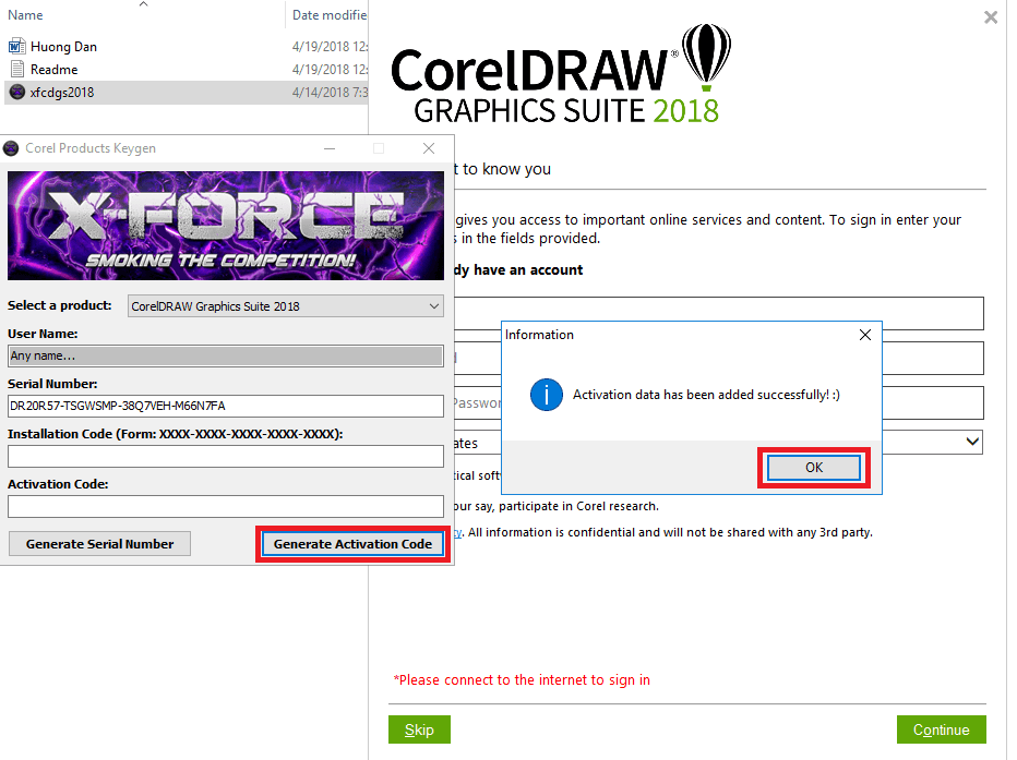 Hướng dẩn cài đặt CorelDRAW Graphics Suite 2018