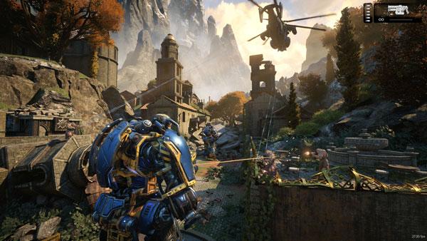 Gears of War 4 hình ảnh chất lượng