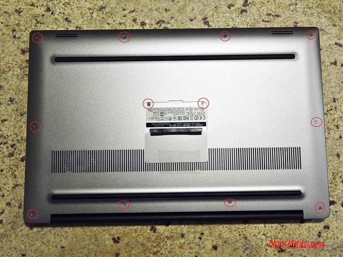 Ốc của laptop dell xps 15