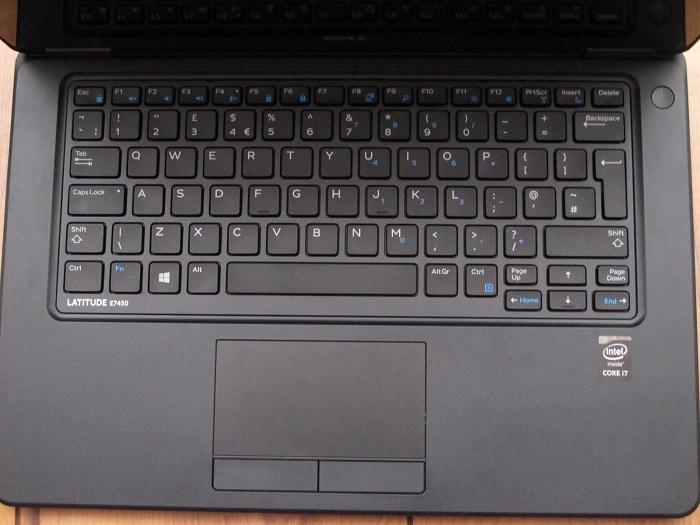 bàn phím, touchpad