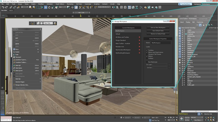 setting vray 3Dmax