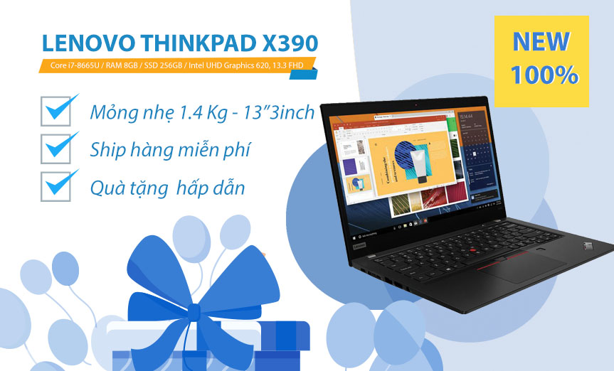 Lenovo ThinkPad X390 - NEW 100%